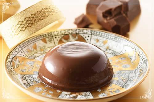 『TAMAGO-YA リッチチョコレートプリン』イメージ画像