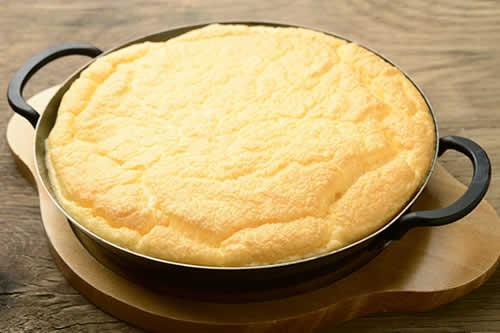 ファームのエッグチーズキーマカレー写真